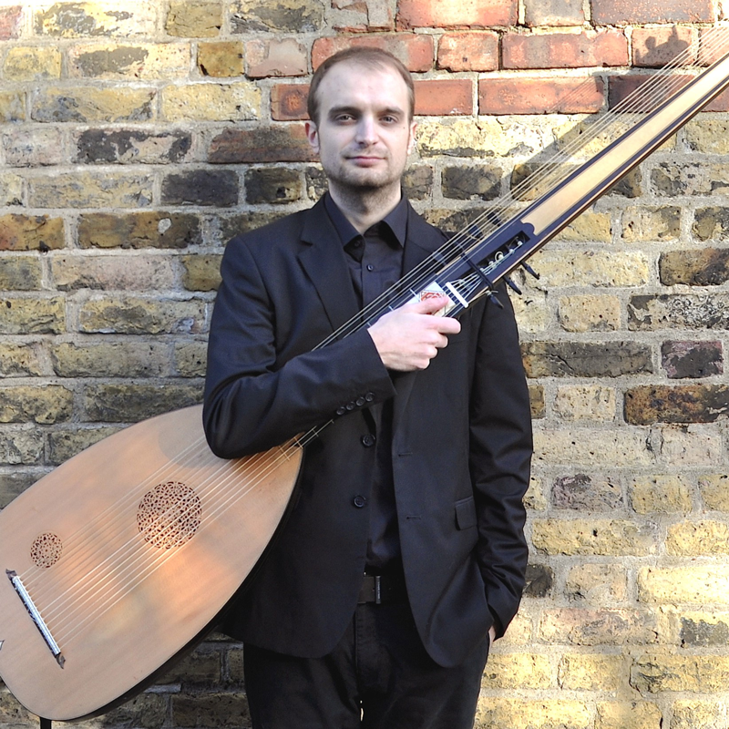James Bramley - Theorbo