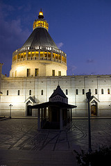Basilica of the Annunciation, Nazareth - photograph by yanivba on Flickr