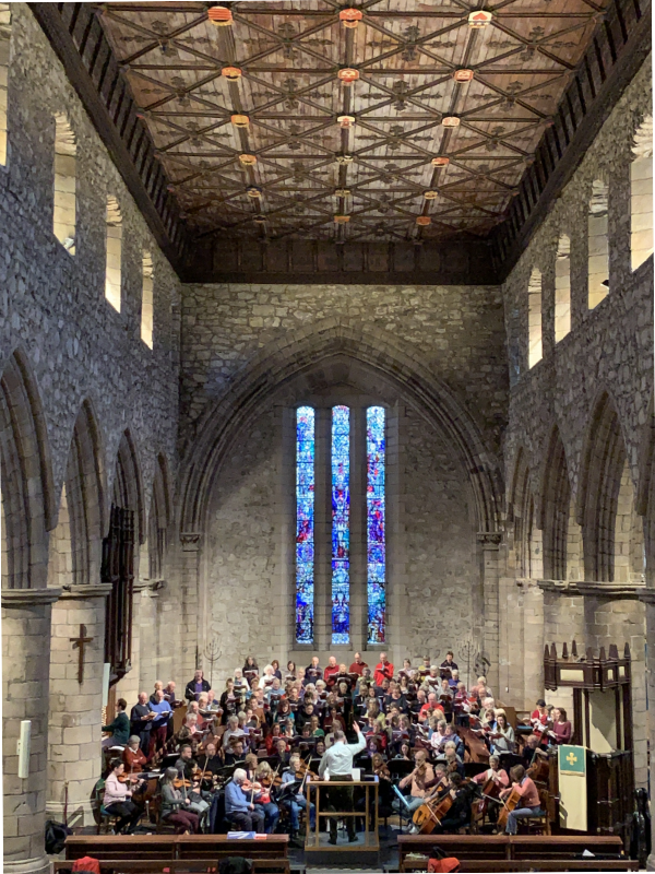 Aberdeen Bach Choir rehearsal 1 December 2018